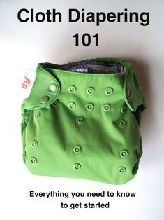 Good article!  Everything you need to know about cloth diapering.