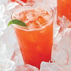 Strawberry-Basil Limeade | MyRecipes.com