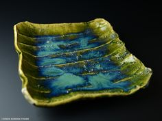 北大路魯山人 於里遍平鉢 Raku Pottery, Slab Pottery, Pottery Art, Pottery Ideas, Japanese Ceramics, Japanese Pottery, Modern Ceramics, Ceramic Tableware, Porcelain Ceramics