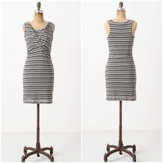 """Anthropologie """"Twisted Linears Dress"""" By Bordeaux. Great condition. Anthropologie Dresses"""
