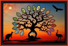 Australian/Indigenous - Aboriginal Tree of Life Poster A3 size This is a new design from Helen Price of Darumbal Country on November 7th, 2013 - This is a poster A3 in size This design talks about growth and unity. In this country, we are growing together. We grow with respect for the land and animals. We grow as one. We grow in peace. That's one of things that makes this country unique, and one of the things I love. Helen