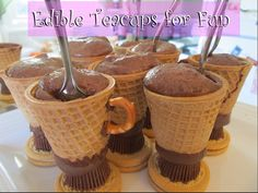 Edible Teacups for Fun