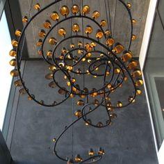 Inspiring Art, Inspiring Chandelier - Donjenna