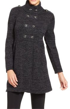 Style&co. Double-Breasted Military Cardigan #sponsored