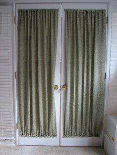 Curtains For French Doors Ideas Very Easy To Make U0026 Install