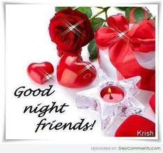 valentine good night sms