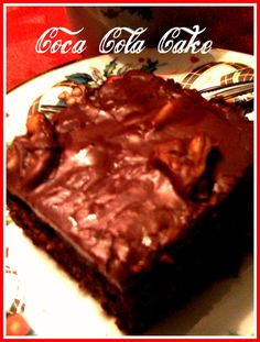 It seems like almost every other day now I get someone asking about the Coca Cola Cake recipe and there is a good reason for that... ...