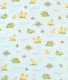 David Textiles Turquoise Pond Pals Flannel, great fabric selection and prices at this website Fabric Patterns, Flower Patterns, Fabric Websites, Adorable Pictures, Pond, Beautiful Flowers, Flannel, Backgrounds, Fabrics