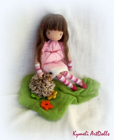 Kymeli OOAK Art Dolls and Dolls . by kymeli Soft Dolls, Crochet Hats, Christmas Ornaments, Trending Outfits, Holiday Decor, Unique Jewelry, Handmade Gifts, Collection, Vintage