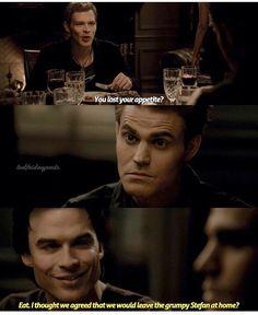 #TVD The Vampire Diaries Klaus,Stefan & Damon