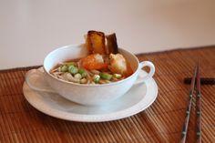 Some delicious Udon Noodle soup with Tempura