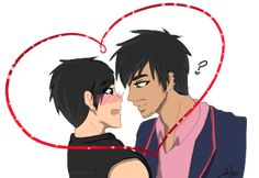 Magnus Bane and Alec by SahGlam29 on DeviantArt