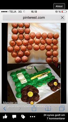 Traktor kage til Kristian