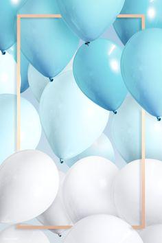 Birthday Background Wallpaper, Birthday Background Design, Happy Birthday Wallpaper, Bday Background, Balloon Background, Happy Birthday Blue, Happy Birthday Posters, Happy Birthday Cards, Boy Birthday