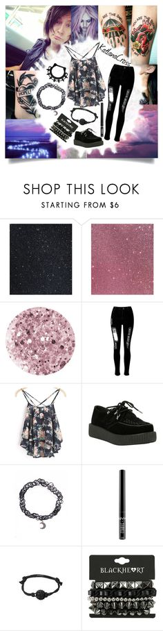 """""""A Night with Stephen Kryple"""" by katlanacross ❤ liked on Polyvore featuring Deborah Lippmann, Fraiche, WithChic, T.U.K. and Charlotte Russe"""