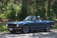 "TR6 on 17"" Rota RB wheels.  Too big, maybe?"