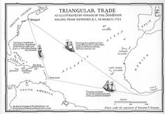 Good map for student to use to illustrate the Triangular ...