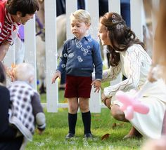 25 Times George and Charlotte's Facial Expressions Said It All During Their Canadian Tour