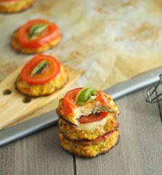 Couve-flor Crust pizzettes