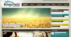 Showcase of the best church websites.