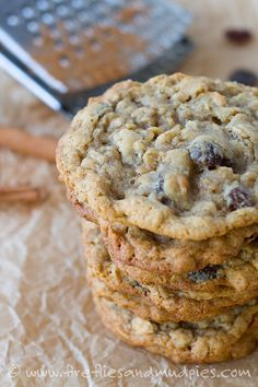 The Best Oatmeal Cookies | Fireflies and Mud Pies
