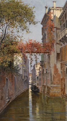 Venetian Canal, Antonietta Brandeis