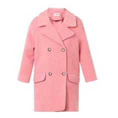 YMC DAY COATS CANDY DOUBLE BREASTE Pink