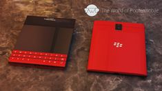 BlackBerry Passport in Red Possibly Available by Christmas