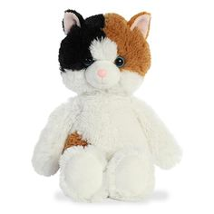 It's important to choose your friends wisely but even more important to choose them cuddly! The Stuffed Calico Cat Cuddly Friends Plush by Aurora is a perfect example. Gato Calico, Stuffed Animal Cat, Cat Whisperer, F2 Savannah Cat, Grey Dog, Raining Cats And Dogs, Cat Photography, Cat Scratching, Cat Furniture