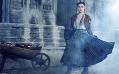 """Arya, de """"Game of Thrones"""", com novo visual em fotos da """"Entertainment Weekly"""""""