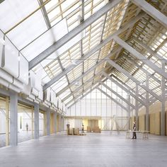 Road centre in Genthod, TEd'A arquitectes BETA is part of Industrial architecture - Architecture Design, Factory Architecture, Industrial Architecture, Architecture Diagrams, Architecture Portfolio, Area Industrial, Warehouse Design, Factory Design, Roof Design