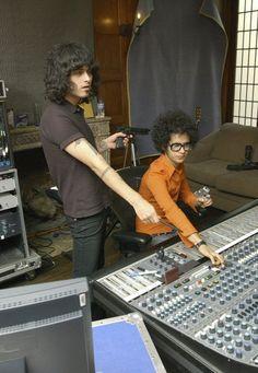 the mars volta in the studio