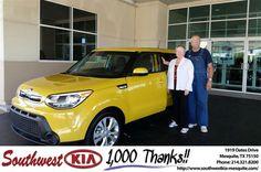 https://flic.kr/p/AjxNeM | Congratulations Margaret on your #Kia #Soul from Ash Chowdhury at Southwest Kia Mesquite! | deliverymaxx.com/DealerReviews.aspx?DealerCode=VNDX