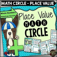 Place value math circle - get your students up and moving to build large numbers when you study place value this year