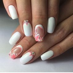 Get inspired by these wedding nail art designs, wedding day is one of the best thing that happened into our life. here are some wedding nail art ideas that will love to copy, or else visit nailinks.com for more nail art ideas.