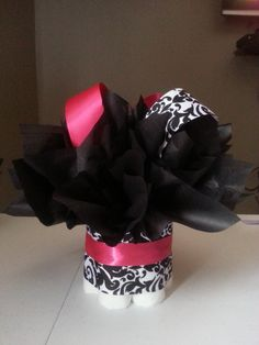HOT+Pink+and+white+and+black+damask+Boutique+mini+by+JayLeeDesign,+$10.00