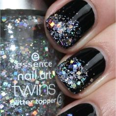 What is nailpolish without a hint of sparkles?