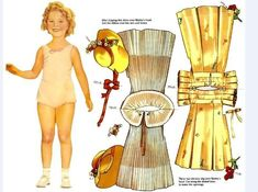 shirley temple paper dolls - Google Search