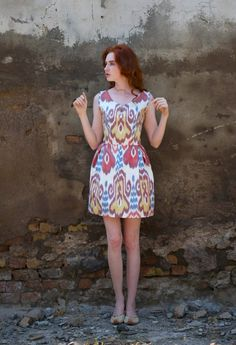 Ikat, English Speech, Couture, Summer Dresses, Pj, Clothes, Vintage, Design, Fashion