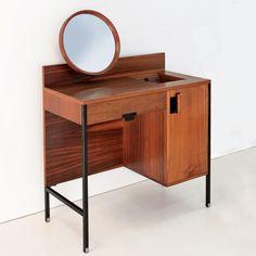 """Ico Parisi """"Positano"""" dressing table, M.I.M, 1959.    WWW.FRAGILEMILANO.COM"""