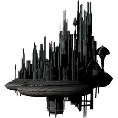 sci_fi_fantasy_building_by_mysticmorning-d5y9nwu.png ❤ liked on Polyvore featuring backgrounds, cities and fantasy