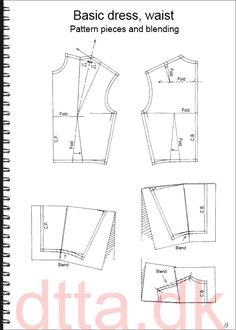 SYSTEM DTTA: PAGE 12/13 | Tailoring - patternmaking, cutting and sewing | THE DESIGN AND TECHNICAL TAILORING ACADEMY | TILSKÆRERAKADEMIET I KØBENHAVN (KBH)