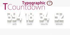 TCountdown - Countdown / jQuery plugin