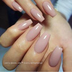 Cute Nails, Pretty Nails, Smart Nails, Gel Nails, Nail Polish, Nagellack Trends, Manicure E Pedicure, Neutral Nails, Nagel Gel