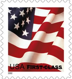 In USPS Issued The First Flag Stamp To Feature Just A Portion Of Old Glory As Shown Here Is Not Denominated But Can You Guess Its Rate