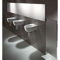 "WS Bath Collections GSI 15"" x 11.8"" Community 30 Bathroom Sink in White  $574"