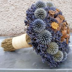 Třeba i pro nevěstu... / Zboží prodejce drahuska56 | Fler.cz Dried Flower Wreaths, Dried Flower Bouquet, Dried Flowers, Sweet Gum Tree Crafts, Corn Dolly, Floral Room, Arte Floral, Flower Farm, Nature Decor