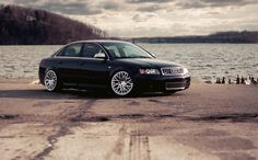Nicely Stanced Audi S4 on Rotiforms