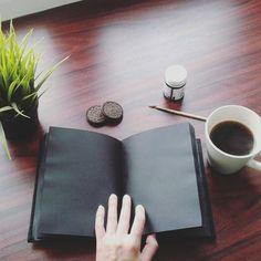 #notebook #blacknotebook #notebookwithblackpages #blackpages #black #notebook #demiurgespark Handmade Notebook, My Notebook, Notebooks, My Photos, Gallery, Diy, Black, Decor, Decoration