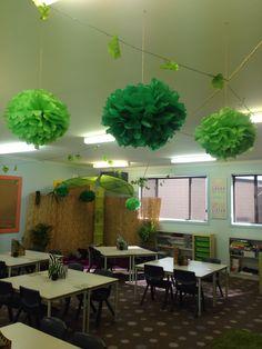 My Year 2/3 Jungle Safari themed classroom!